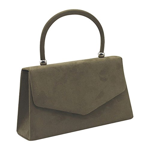 Wiwsi Clutch Suede Purse Color Handle Lady Bag Various Hot Leather Party Tote Handbag wqwapr1