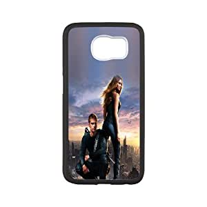 Personlised Rubber Phone Case Divergent For Samsung Galaxy S6 NC1Q00841
