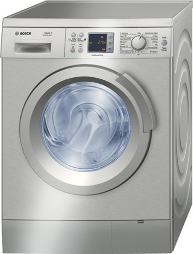 Bosch WAS2446XEE Independiente Carga frontal 8kg 1200RPM A Acero ...