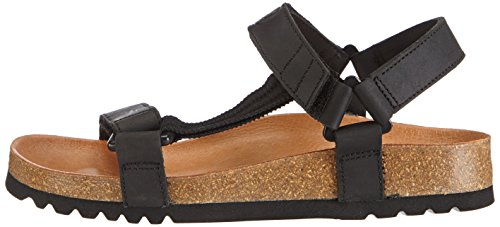 Scholl Heaven Adults' Sandals Black Unisex Black Ad UUHAwr