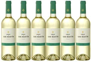 Vino Blanco Verdejo x6 Cruz de San Martín D.O RUEDA 6 botellas
