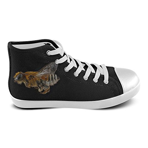 D-Story Custom Honeybee High Top Mens Canvas Shoes Sneaker aRPzVDJ