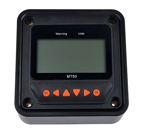SolarEnzMT-50 Remote Meter LCD Display Fit for EPEVER MPPT Charge Controller by EnzSolar