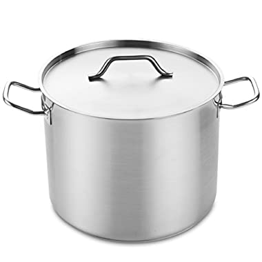 Cooks Standard NC-00331 Professional Grade Stockpot with Lid, 32-Quart