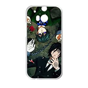 Black Butler HTC One M8 Cell Phone Case White Delicate gift AVS_592332