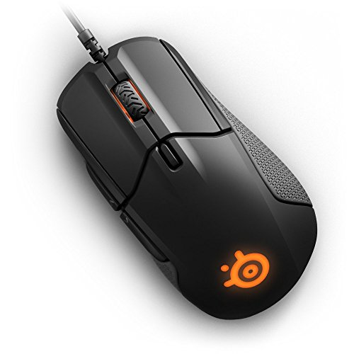 SteelSeries Rival 310 Gaming Mouse, 12,000 CPI TrueMove3 Optical Sensor, Split-Trigger Buttons, Prism RGB
