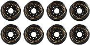 Inline Skates Wheels Skate PU Wheels 8Pcs Hardness 88A Skates Replacement Wheel 72MM-80MM Creativity Wheels