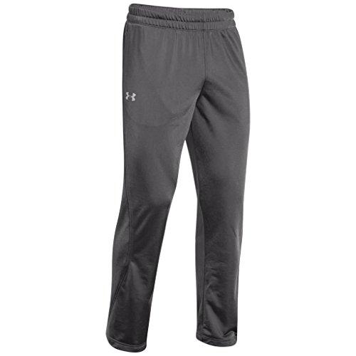 - Under Armour Men's Relentless Warm-Up Pants - Straight Leg, Graphite /Black, Medium