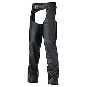 Classic Biker Leather Chaps 2XL