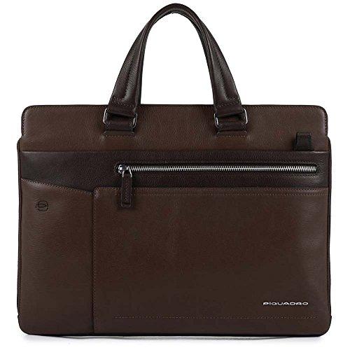 Piquadro Ca4120w82 Notebook-Tasche Marrone (Testa Di Moro)