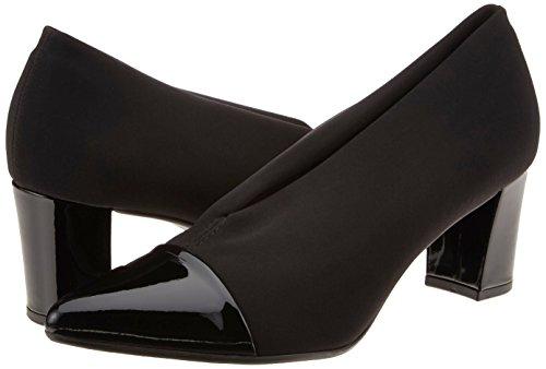 Lack Mujer Peter Para De schwarz Con Noemita Cerrada Punta 693 Negro Stretch Zapatos Tacón Kaiser 8zW7n8PS
