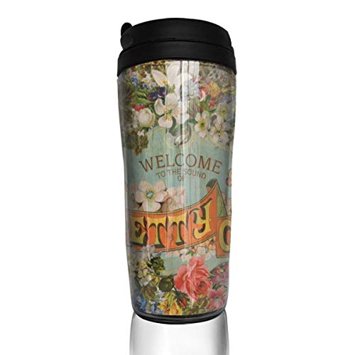 Wodehous Adonis Panic At The Disco Modern Insulated Traveler Coffee Mug Tumbler Coffee Cup 12 Oz ()