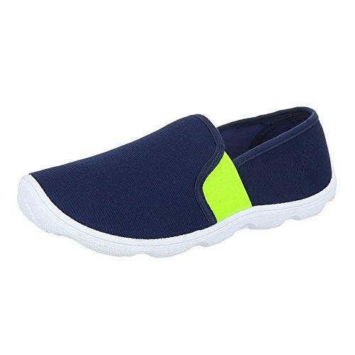 Ital-Design WoMen Shoes Blue - BLUE