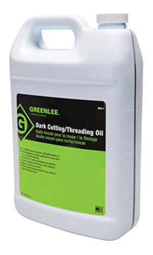 1 Gallon Thread Cutting Oil (Greenlee 462-1 Thread Cutting Oil, Dark, 1-Gallon)