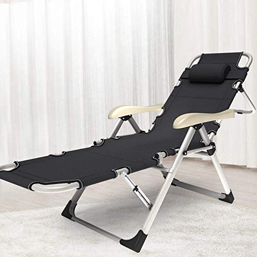 Varniraj Portable Adjustable Steel Recliner Chair/Bed for Beach, Camping, Outdoor & Picnic, (Color Mineral Gray)