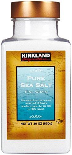 Kirkland Signature Pure Sea Salt, 30 Ounce