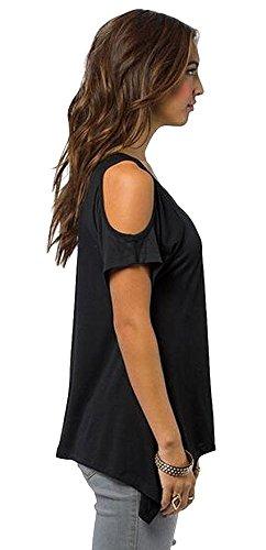 jinyouju - Camisas - para mujer negro
