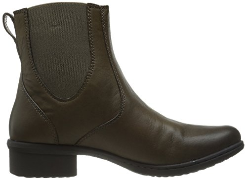 Bogs Womens Kristina Chelsea Waterproof Leather Boot Taupe topzFjzt