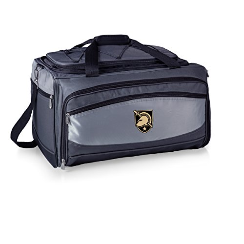 NCAA Army-US Military Academy Black Knights Buccaneer Tailgating Cooler with Grill by PICNIC TIME