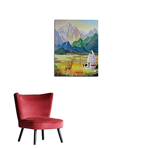 longbuyer Art Decor Decals Stickers Painting Oil Canvas