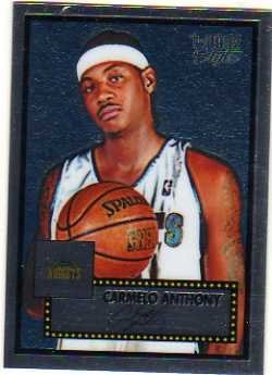 2005-06 Topps Style Chrome #6 Carmelo Anthony Serial - Anthony Style Carmelo