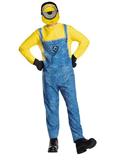 Rubie's Men's Despicable Me 3 Movie Minion Costume, Mel, (Halloween Costumes For 3 Adults)