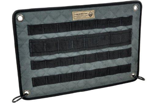 (Hazard 4 (ACS-DPN-BLK) DIV Molle/Velcro Panel, Black)