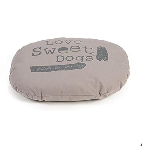 Sweet Dogs - Cojín perros Cojín cama para perros ovalado ...