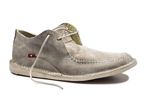 Oliberte Men's Dubano Sand Suede 42/9 Boat Shoe by Oliberte