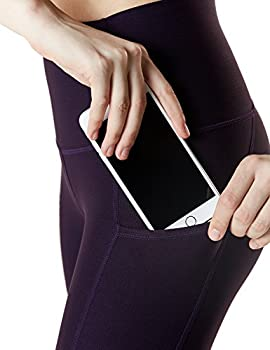 "Tm-fyc34-blk_medium Tesla Yoga 21""capri High-waist Pants W Side Pockets Fyc34 7"