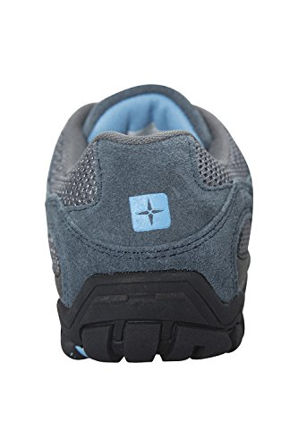 Mountain Warehouse Outdoor Womens Shoes - Ladies Walking Shoes Pale Blue bFUSsZ