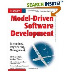Book Model-Driven Software Development (text only) by T.Stahl.M.Voelter.