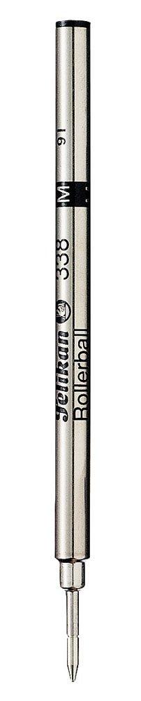 Pelikan 338 Rollerball Pen Refills Pack of 10 - Black Fine ( 908483 )