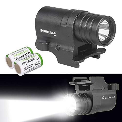 X.Store G10 LED Tactical Gun Light with Battery - 230 Lumens 2 Modes Pistol Flashlight Handgun Torch Light ()