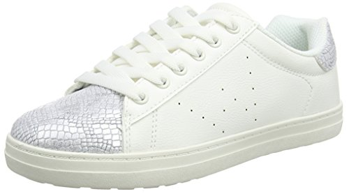 Spot on Damen F7047 Low-Top Weiß