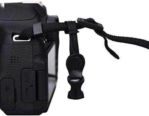 Maxsimafoto – MFC1 negro neopreno funda para cámara para Canon 60D ...