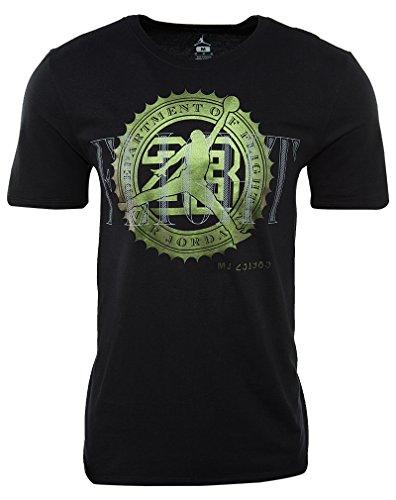Nike Pure Money Bank Note Camiseta, Hombre Negro