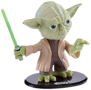 Joy Toy Star Wars - Figura de Yoda (14 x 17 cm) - Star Wars: Yoda Headknocker