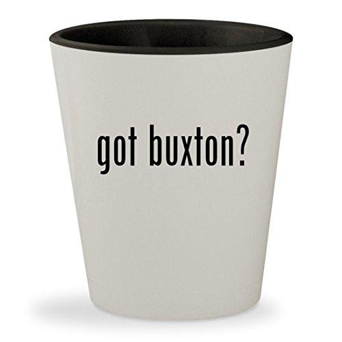 got buxton? - White Outer & Black Inner Ceramic 1.5oz Shot (Bi Fold Padfolio)