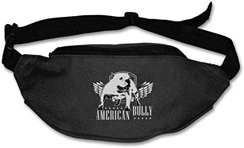 アメリカいじめユニセックス屋外ファニーパックバッグベルトバッグスポーツウエストパック