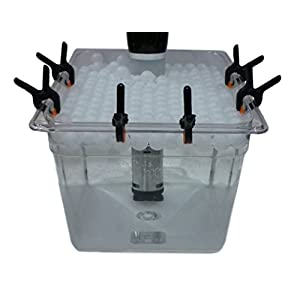 Sous Vide Container, Clips, Floating Ball Lid Cover Kit Bundle