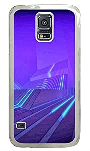 Samsung Galaxy S5 patterns abstract 3D parallax 52 PC Custom Samsung Galaxy S5 Case Cover Transparent