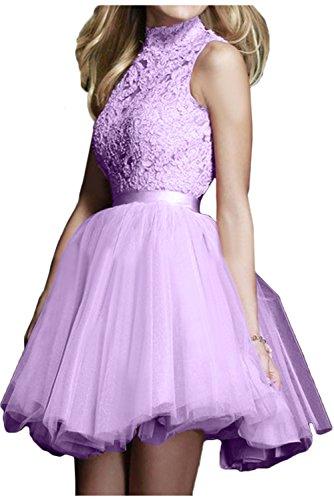 Topkleider trapecio Lilac para Vestido mujer 44xwzr