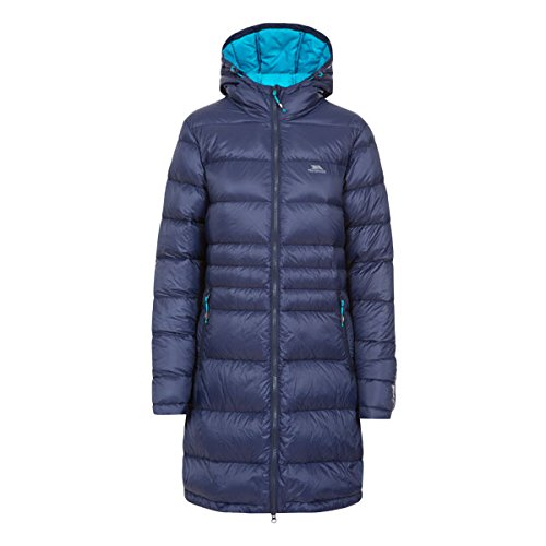 Trespass Marge Hooded Warm Womens Down Jacket Winter Long Ladies Parka Coat