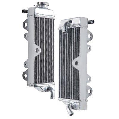 Tusk Aluminum Radiator Set - Fits: Yamaha WR450F 2005-2006 by Tusk