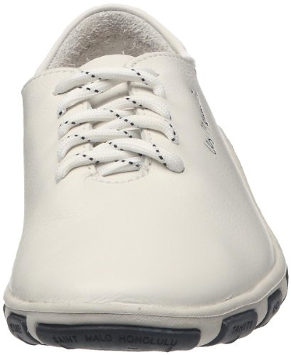 TBSJazaru Blanco Zapatillas con Cordones Blanc Mujer Wei TTUqr