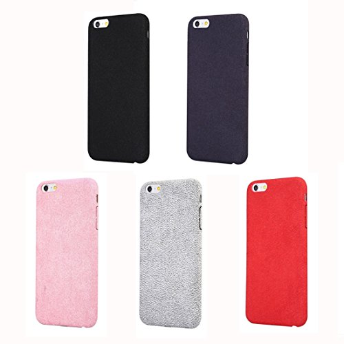 Phone Taschen & Schalen Für iPhone 6 Plus & 6s Plus Ultra Fiber + PC Schutzmaßnahmen zurück Fall ( Color : Red )
