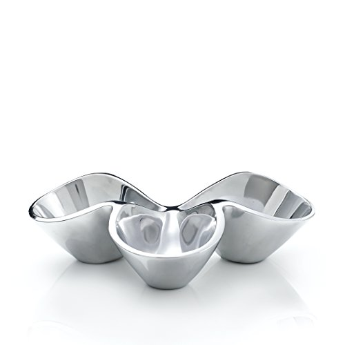 Nambe Bella Triple Condiment Server (MT0621)