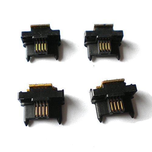 4x Drum Imaging Unit Reset Chip for Fuji Xerox DCC C240, C320, C400 (CT350150) (Chip Dcc)