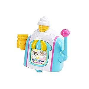 Baby Toy Bath Ice Cream Bubble Machine Bathroom Essential Bath Toys Bubble Ice Creams Maker Foam Factory Bathtub Toy